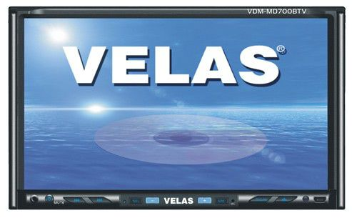 Автомагнитола VELAS VDM-MD700BTV,  USB,  SD