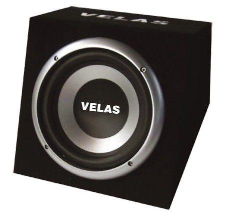 Сабвуфер автомобильный VELAS VRSB-210AK,  активный,  450Вт
