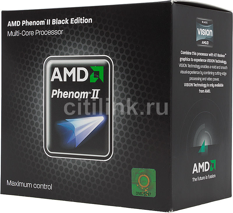 Процессор AMD Phenom II X6 1090T Black Edition, SocketAM3 BOX [hdt90zfbgrbox]