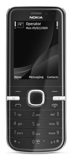 Смартфон NOKIA Classic 6730  черный