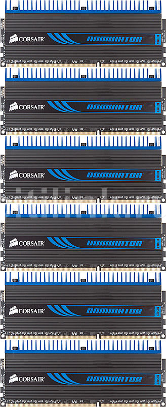 Модуль памяти CORSAIR DOMINATOR CMD12GX3M6A1600C8 DDR3 -  6x 2Гб 1600, DIMM,  OEM