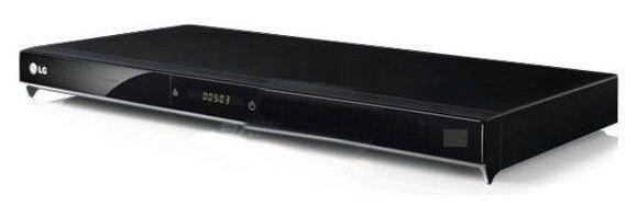 DVD-плеер LG DVX-580,  черный