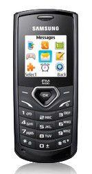Мобильный телефон SAMSUNG GT-E1175  черный