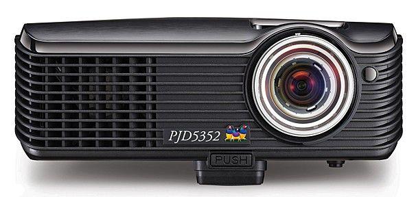 Проектор VIEWSONIC PJD5352 черный [vs13147]