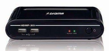 Медиаплеер DIGMA HDMP-301,  черный