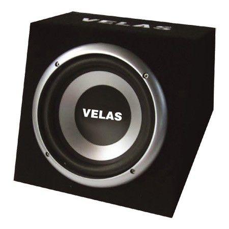 Сабвуфер автомобильный VELAS VRSB-212AK,  активный,  600Вт