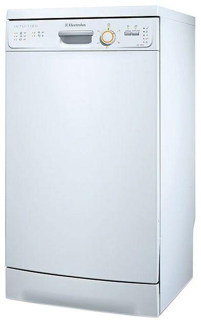 Посудомоечная машина ELECTROLUX ESF43011,  узкая, белая