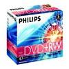 Оптический диск DVD+RW PHILIPS 4.7Гб 8x, 5шт., jewel case вид 1
