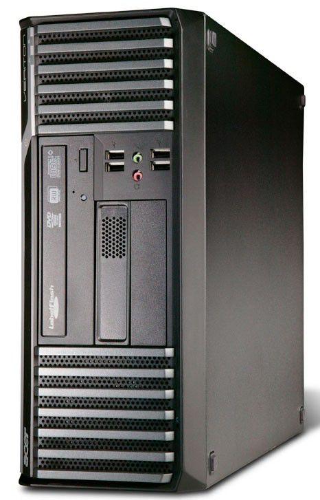 ACER Veriton M480G,  Intel  Core2 Duo  E8400,  DDR3 2Гб, 320Гб,  Intel GMA X4500,  DVD-RW,  Free DOS,  черный [ps.v75e9.021]
