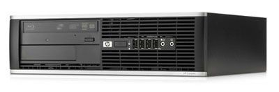HP Elite 8000,  Intel  Core2 Duo  E8500,  DDR3 2Гб, 320Гб,  Intel GMA 4500,  DVD-RW,  Free DOS,  черный [wb662ea]