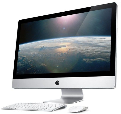 APPLE iMac Intel  Core2 Duo  DDR3 4Гб, 500Гб,  nVIDIA GeForce 9400 M - 256 Мб,  DVD-RW,  Mac OS X 10.6 Snow Leopard,  серебристый [mb950]