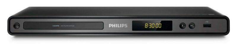 DVD-плеер PHILIPS DVP3360K/51,  черный