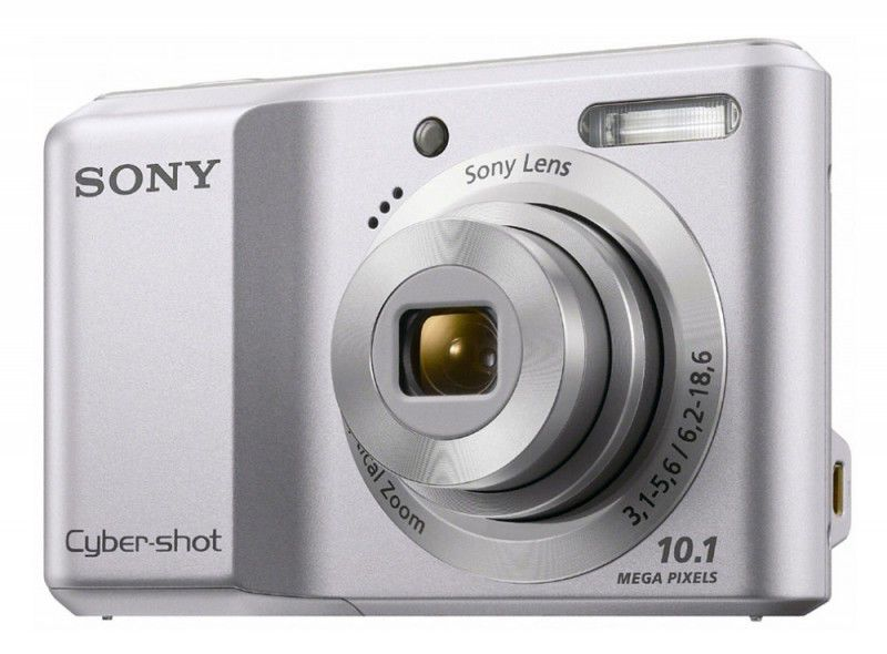 Цифровой фотоаппарат SONY Cyber-shot DSC-S1900,  серебристый
