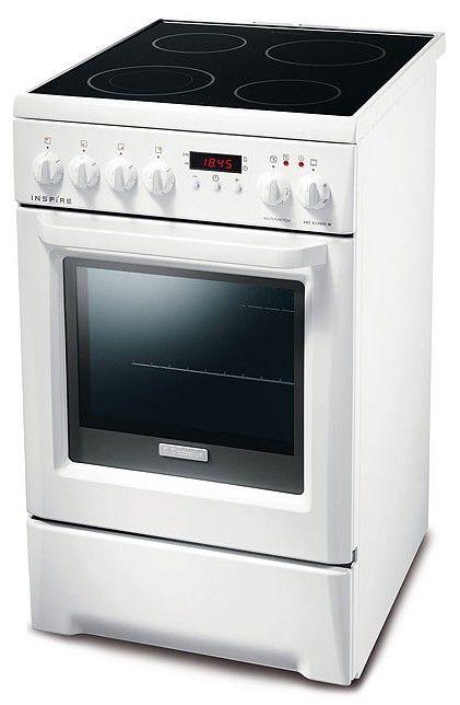 Электрическая плита ELECTROLUX EKC513503W,  стеклокерамика,  белый