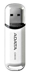 Флешка USB A-DATA Classic C906 2Гб, USB2.0, белый [ac906-2g-rwh]