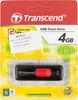 Флешка USB TRANSCEND Jetflash 500 4Гб, USB2.0, черный и красный [ts4gjf500] вид 5