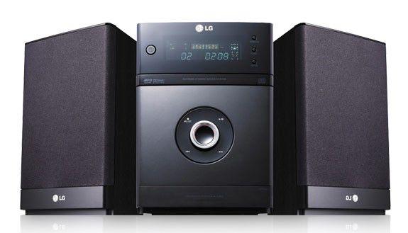 Музыкальный центр LG XA-U63X,  черный