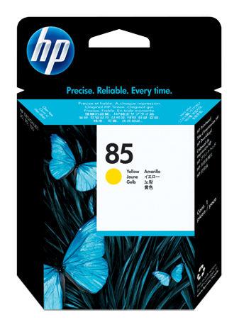 Печатающая головка HP №85 желтый [c9422a]
