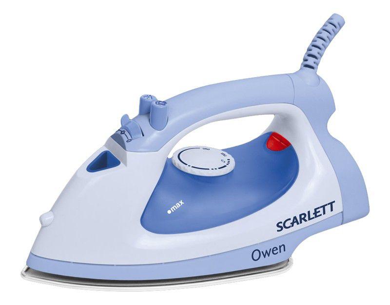 Утюг SCARLETT SC-1130S,  1400Вт,  голубой