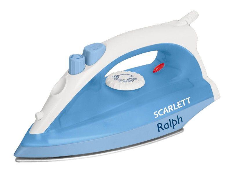 Утюг SCARLETT SC-1131S,  1400Вт,  голубой