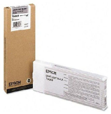 Картридж EPSON T6069 светло-серый [c13t606900]