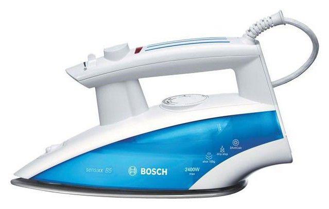 Утюг BOSCH TDA6611,  2400Вт,  голубой