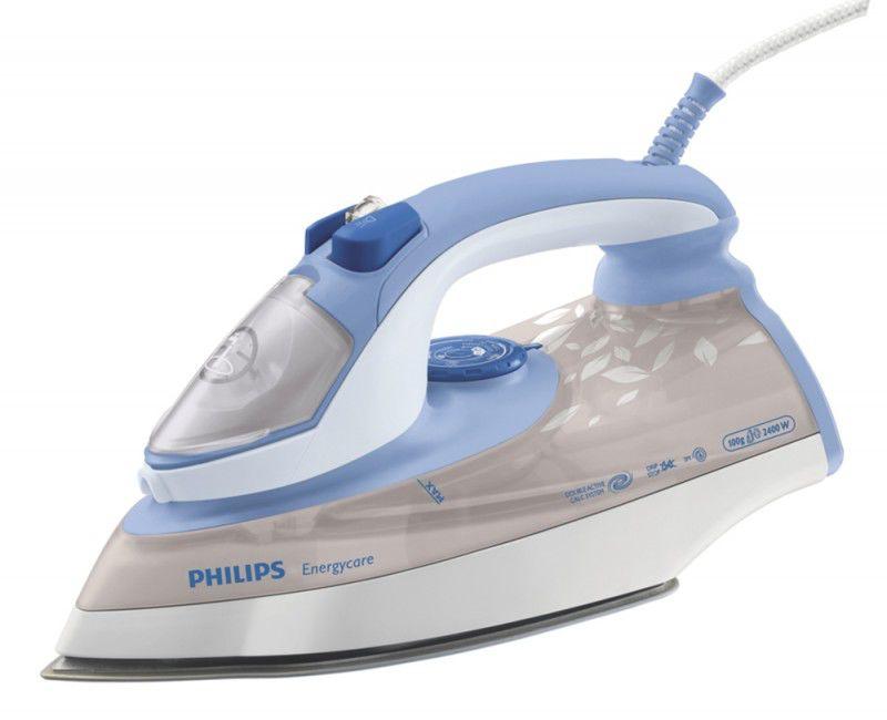 Утюг PHILIPS GC3620,  2400Вт,  бежевый/ голубой