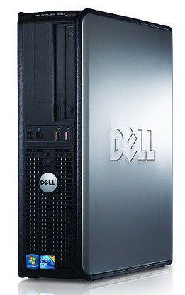 DELL Optiplex 380,  Intel  Pentium Dual-Core  E6300,  DDR3 2Гб, 320Гб,  Intel GMA X4500,  DVD-RW,  Free DOS,  черный [210-30618]