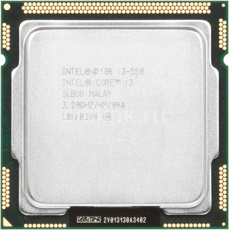 Процессор INTEL Core i3 550, LGA 1156 OEM [cm80616003174ajs lbud]