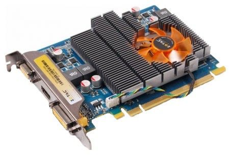 Видеокарта ZOTAC GeForce GT240, ZT-20407-10L,  512Мб, DDR3, Ret