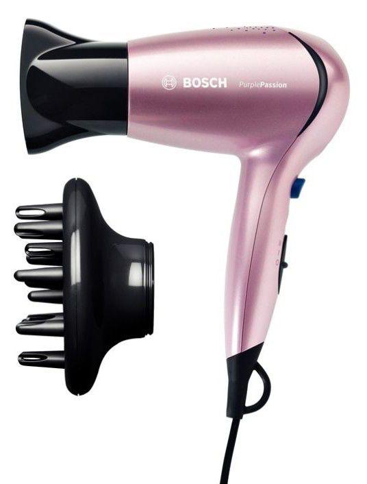 Фен BOSCH PHD3304, 1600Вт, розовый