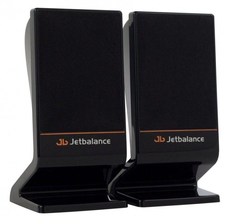 Колонки JETBALANCE JB-120,  черный [jb-120 black]