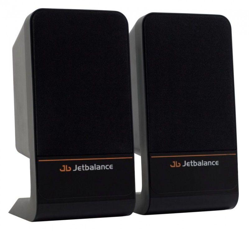 Колонки JETBALANCE JB-125,  черный [jb-125 black]