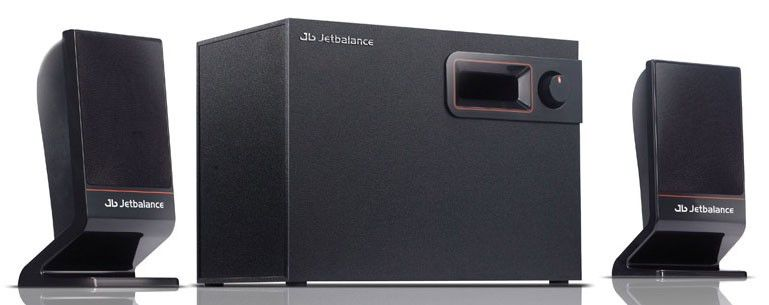 Колонки JETBALANCE JB-405,  черный [jb-405 black]