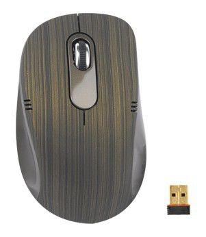Мышь G-CUBE G7T-60G оптическая беспроводная USB, коричневый и зеленый