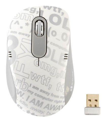 Мышь G-CUBE G7CR-60S оптическая беспроводная USB, серый и черный