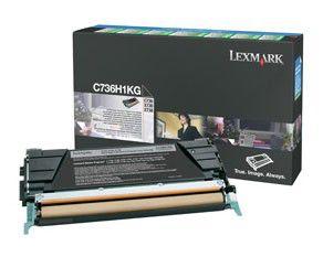 Картридж LEXMARK C736H1KG черный