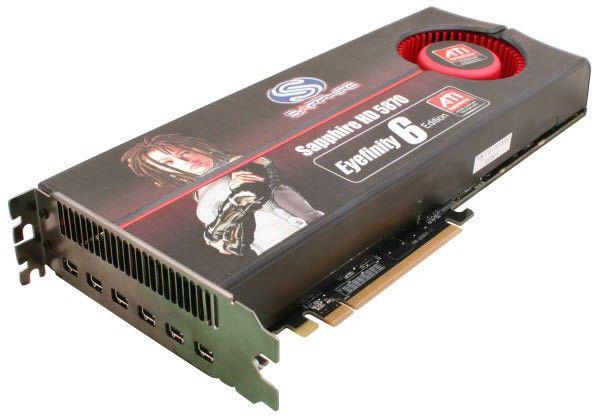 Видеокарта SAPPHIRE Radeon HD 5870,  2Гб, GDDR5, Ret [21161-xx-40r]