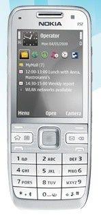 Смартфон NOKIA Navi E52  металлик