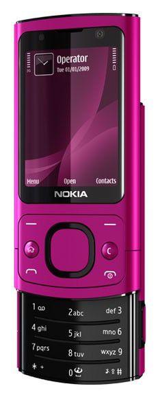 Мобильный телефон NOKIA 6700s  розовый