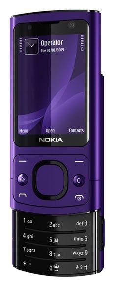 Мобильный телефон NOKIA 6700s  фиолетовый