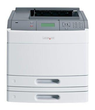 Принтер LEXMARK T650dtn лазерный, цвет:  белый [30g0139]