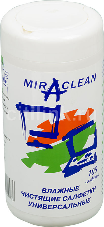 Влажные салфетки  Miraclean 24168