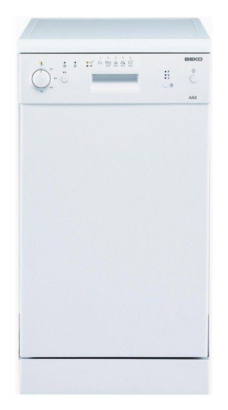 Посудомоечная машина BEKO DFS2520,  узкая, белая