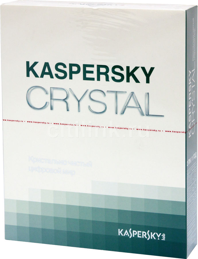ПО Kaspersky CRYSTAL Russian Edition 2-Desktop 1 year Base Box (KL1907RBBFS)