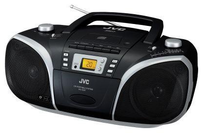 Аудиомагнитола JVC RC-EZ57B,  черный