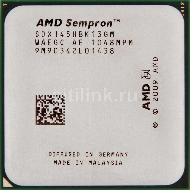 Процессор AMD Sempron X1 X145, SocketAM3 OEM [sdx145hbk13gm]