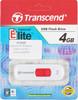 Флешка USB TRANSCEND Jetflash 530 4Гб, USB2.0, белый и красный [ts4gjf530] вид 4