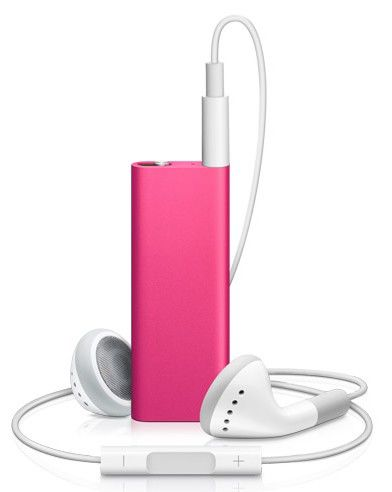 MP3 плеер APPLE iPod Shuffle flash 2Гб розовый [mc387]