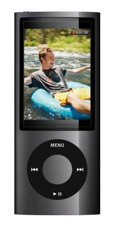 MP3 плеер APPLE iPod Nano flash 8Гб черный [mc031]